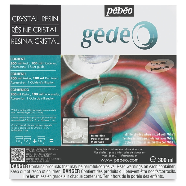 Gedeo Crystal Resin