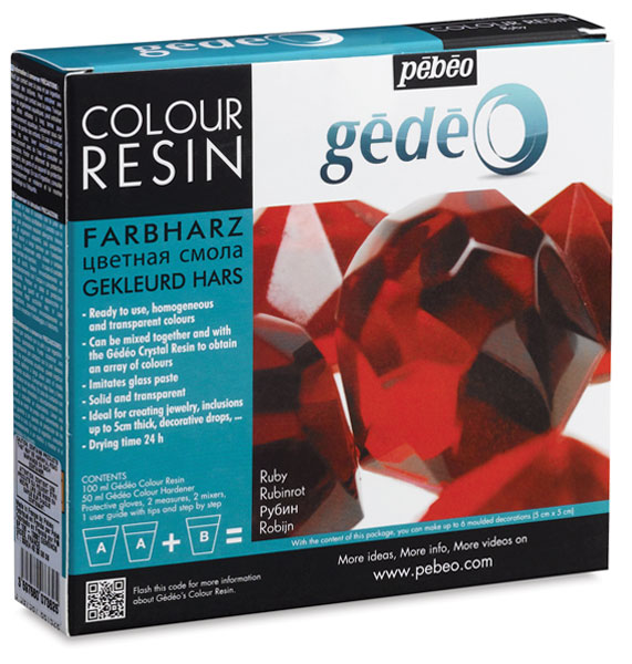 Gedeo Colour Resin, Ruby Red