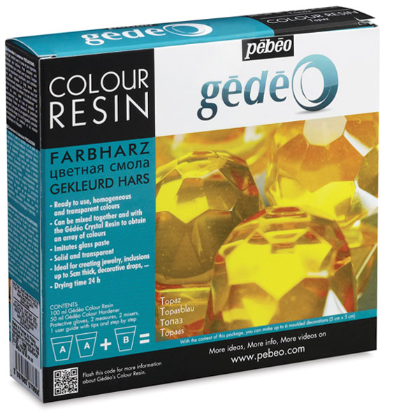 Gedeo Colour Resin, Topaz