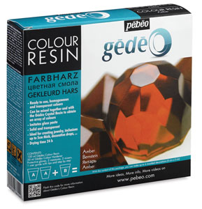 Gedeo Colour Resin, Amber