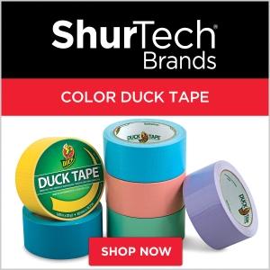 ShurTech Color Duck Tape