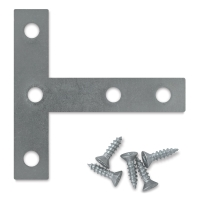 Utrecht Heavy Duty Cross Brace T-Plates