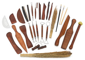 Deluxe Pottery Tools, Set of 27
