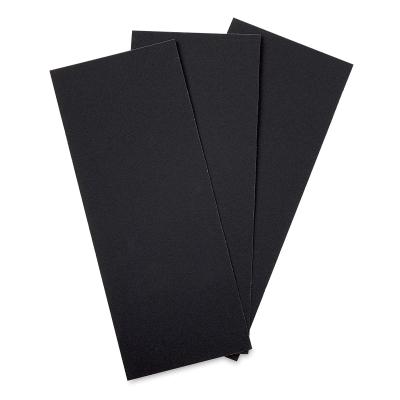 Sandpaper, Fine Texture, Pkg of 3 Sheets