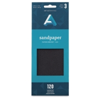Sandpaper, Coarse Texture, Pkg of 3 Sheets