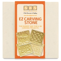 EZ Carving Stone, White