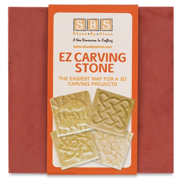 EZ Carving Stone, Red