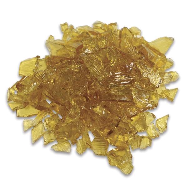 Glass Mosaic Chunks, Amber