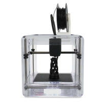 M3D Micro 3D Printer, Clear - Sample Artwork Shown