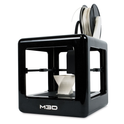M3D Micro 3D Printer, Black - Sample Artwork Shown