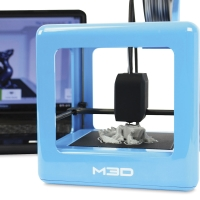 M3D Micro 3D Printer, Shown in Use
