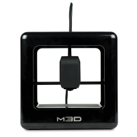 Micro Plus 3D Printer, Black