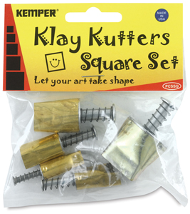 Set of 5 Cutters, Square