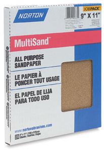 Sandpaper, 6 Sheets
