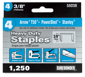 Heavy Duty No. 4 Staples