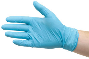 Nitrile Powder-Free Gloves, Pkg of 100