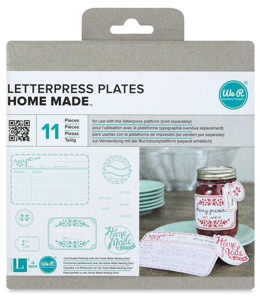 Homemade Printing Plates