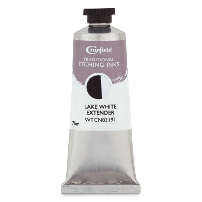Cranfield Traditional Etching Ink, Lake White Extender, 75 ml