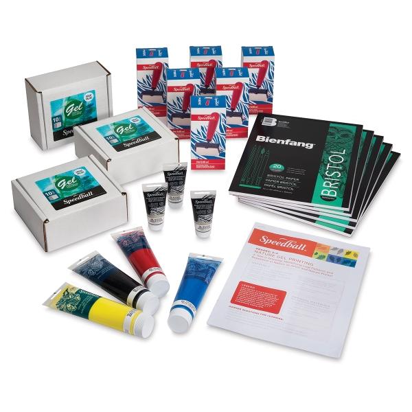Gel Printing Class Pack