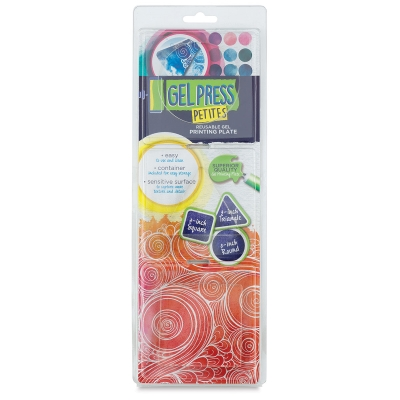 Gel Press Printing Plate, Petites, Pkg of 3