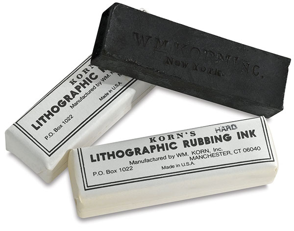 Lithographic Rubbing Ink Sticks