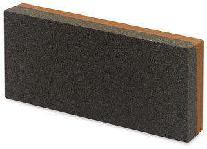 Medium Double-Sided India Sharpening Stone<br>Medium/Fine Grit