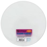 Clear Carve Linoleum, Round