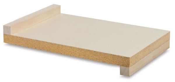 Wooden Inking Plate, Melamine/Pine