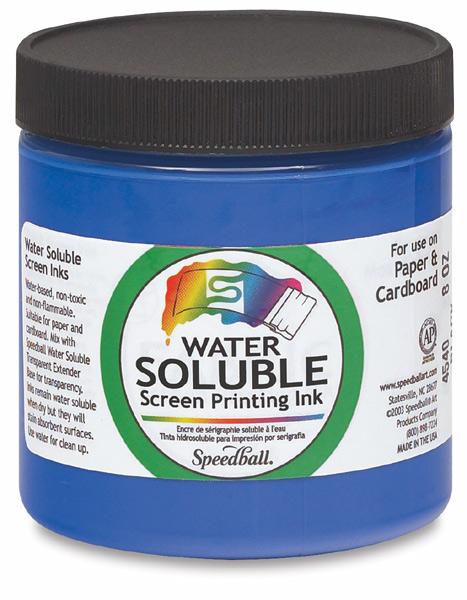 Speedball Water Soluble Screen Printing Ink Blick Art
