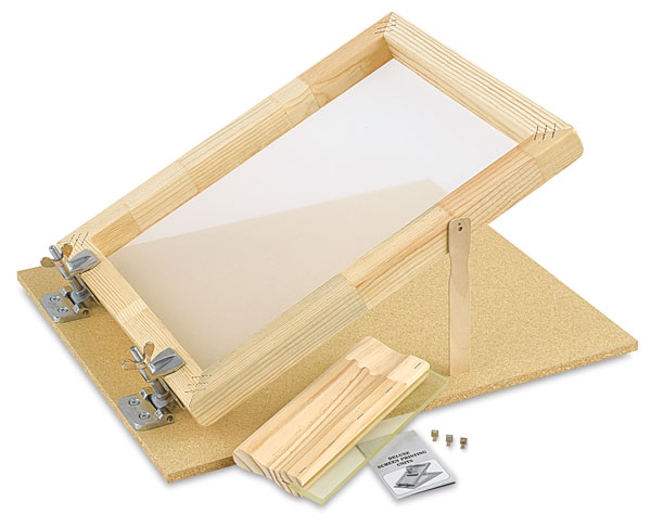 "Screen Printing Unit, with 10"" Squeegee"