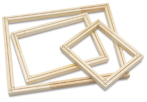 43420-1004 - Blick Wooden Screen Frames Without Fabric - BLICK art ...