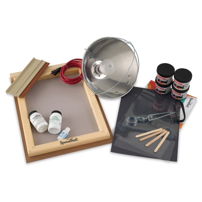 All-In-One Fabric Screen Printing Kit
