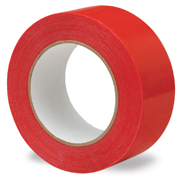 Red Polyethylene Screen Tape