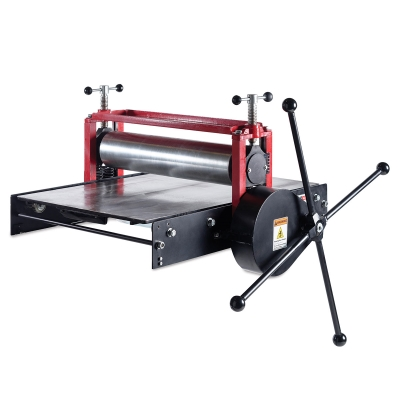 Gear Drive Etching Press, Metal Bed
