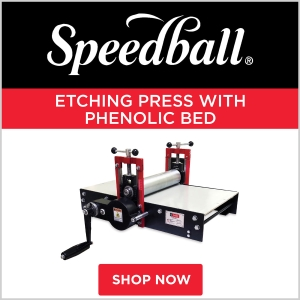 Speedball Etching Press with Phenolic Bed