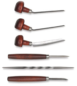 6 Piece Etching Set