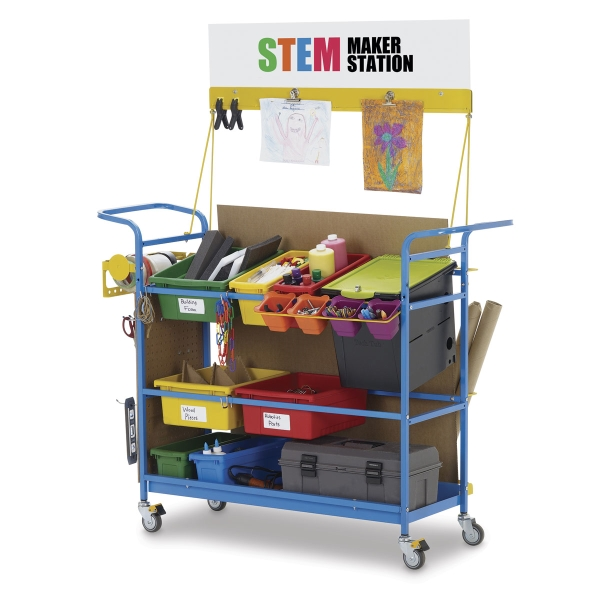 STEM Maker Station, Premier Model<br>(Art supplies not included)</br>