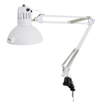 LED Swing Arm Lamp, White