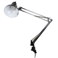 LED Swing Arm Lamp, Black