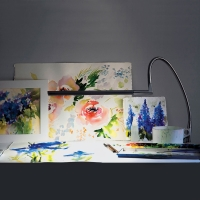 Techne Artist and Drafting Lamp (Shown in use)