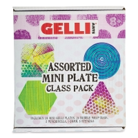 Student Printing Plates, Mini Assorted, Class Pack of 24