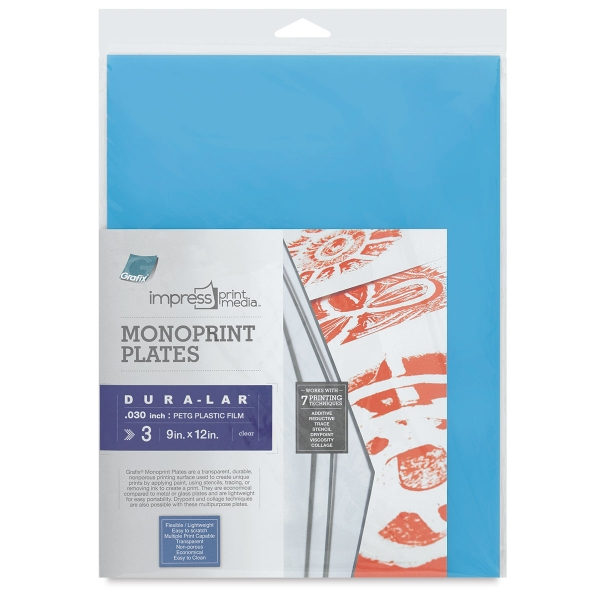 Impress Monoprint Plates