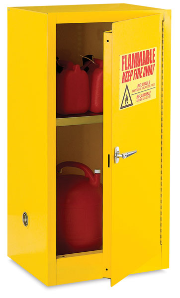 Safety Cabinet, 12 Gallon Capacity