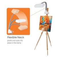 Easel Light, White
