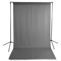 Wrinkle-Resistant Economy Solid  Background Kit, Gray
