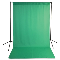 Wrinkle-Resistant Economy Solid  Background Kit, Green