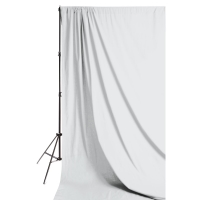 Solid Muslin Backdrop, White(Stand not included)