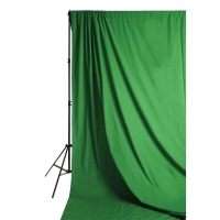 Solid Muslin Backdrop, Chrome Green(Stand not included)