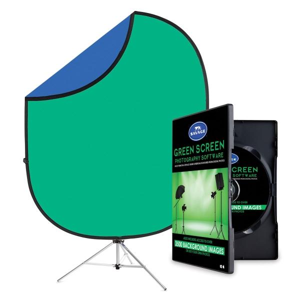 Green Screen Digital Photography Kit
