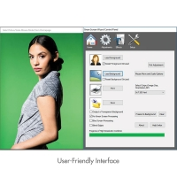 Green Screen Photo Creator Kit (Example of included software)